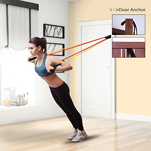 Exercise Bands Door Anchor: Mpow G 2 Resistance Bands Upgraded Stretch W Band Guard