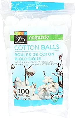365 Everyday Value, Organic Cotton Balls, 100 Count