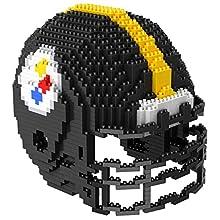 Pittsburgh Steelers NFL 3D BRXLZ Construction Toy Blocks Set - Helmet