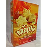 2 packs of 500g Mr Maple Pure Maple Flavoured Creme Cookies Canadian Product