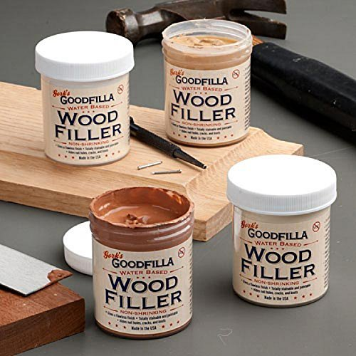 Water-Based Wood & Grain Filler - White Oak - 3.5 Gallon by Goodfilla | Replace Every Filler & Putty | Repairs, Finishes & Patches | Paintable, Stainable, Sandable & Quick Drying by Goodfilla (Image #3)