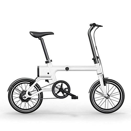 L@YC Six Color Optional 16 Inches Folding Electric Car Adult Mini Lithium Electric Scooter Two Round Drive on Behalf of The Portable Bike , (Watt Electric Scooter)