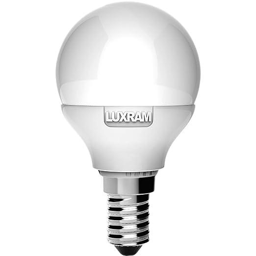 BOMBILLA 6,5W 4000K LED ESFERICA E14 650LM (BLANCO NATURAL)