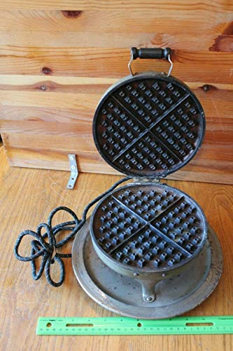 Landers Frary & Clark Universal Waffle Iron maker Press for sale  Delivered anywhere in USA