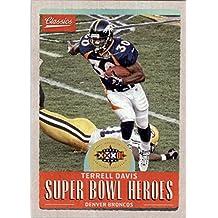 2017 Classics Super Bowl Heroes #23 Terrell Davis - NM-MT