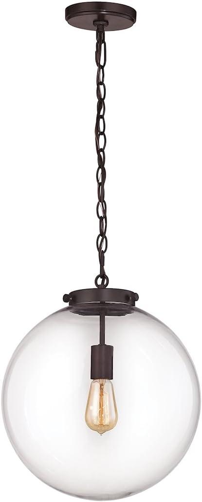 ELK Lighting 16373 1 Ceiling-Pendant-fixtures, 16 x 14 x 14, Bronze