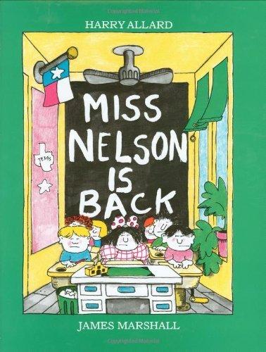 Miss Nelson Is Back by Harry G. Allard Jr. (1982-10-25)