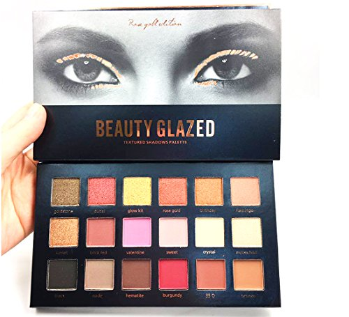Beauty Glazed Eyeshadow Palettes 18 Colors Waterproof Eye Sh