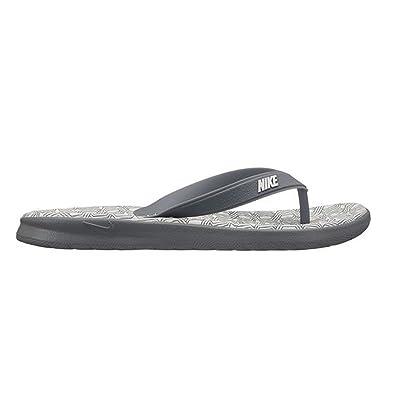 62c81bb68 Nike Women's Solay Thong Sandal Cool Grey/White Size 6 ...