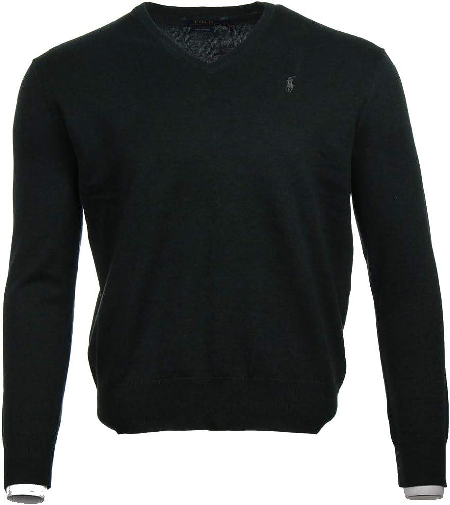 Ralph Lauren Polo Jersey, M, Flequillo Logo, Pima Algodón, Green ...
