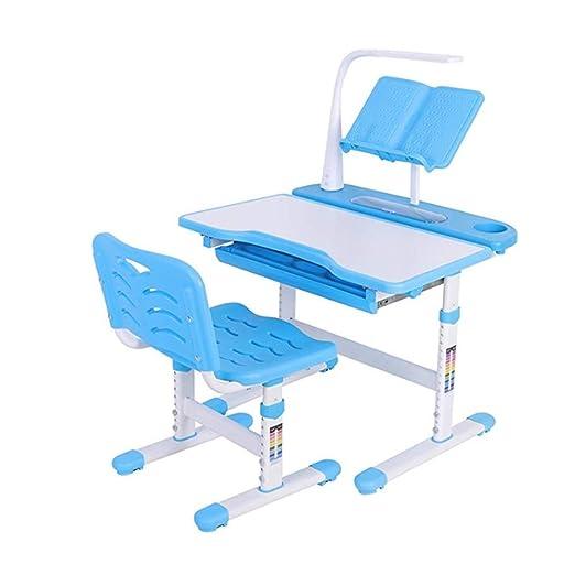 FESSLAND Juegos de Mesa y sillas Infantiles Estudio Mesa de niño ...