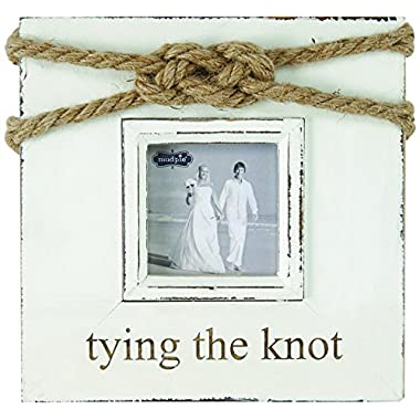 Mud Pie Tying The Knot Frame, Gold
