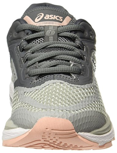 ASICS Women's GT-2000 6, MID Grey/Silver/Carbon Mid Grey/Silver/Carbon