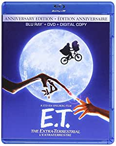 E.T.: The Extra Terrestrial (30th Anniversary Edition) [Blu-ray + DVD + Digital Copy] (Bilingual)