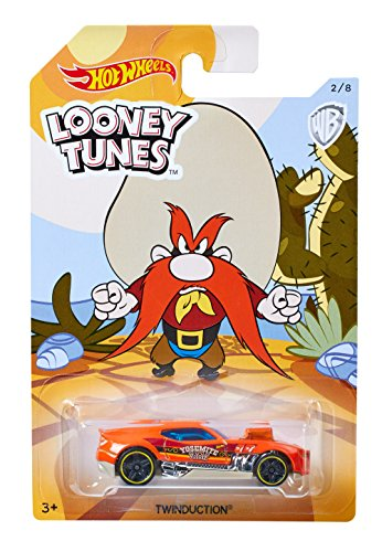 Price comparison product image 2017 Hot Wheels Looney Tunes Complete Set Of 8 Bugs Bunny,Daffy Duck,Road Runner,Tasmanian Devil,Yosemite Sam,Wile E Coyote,Marvin The Martian,Michigan J Frog