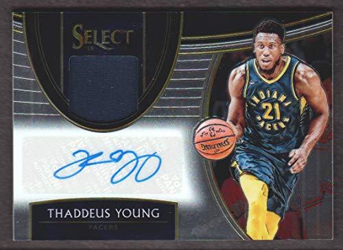 2018-19 Select Basketball Autographed Memorabilia #AM-TYG Thaddeus Young Auto Jersey 023/167 Indiana ()