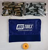 25 3/16 & 25 3/32 Standard Hex-Nut Cleco Fasteners w/ HBHT Tool & Bag (KHN4S50-5)
