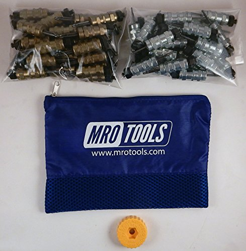 25 3/16 & 25 3/32 Standard Hex-Nut Cleco Fasteners w/ HBHT Tool & Bag (KHN4S50-5) by MRO Tools Cleco Fasteners