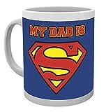 GB eye Superman My Dad is Superdad Mug, Multi-Colour by GB Eye Limited