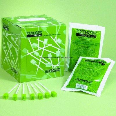 Toothette Plus des tampons jetables produit