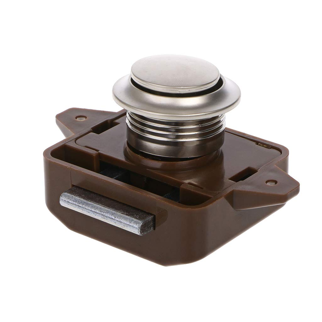 roulotte serratura di ferramenta per roulotte marrone Longsw FC02 Serratura di yacht per camper motore