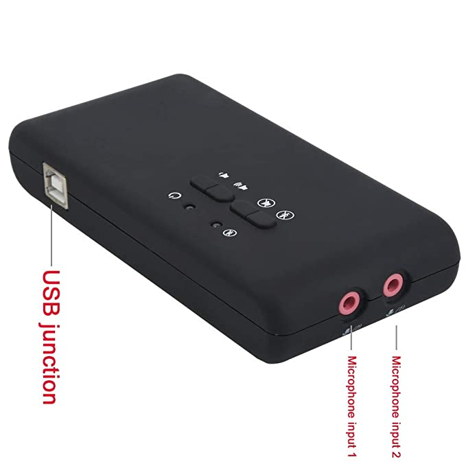 Battle of the peak Tarjeta de Sonido USB Audio estéreo USB ...