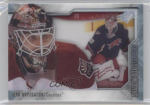 St4 Box (Ilya Bryzgalov (Hockey Card) 2010-11 SPx - Shadow Box Stoppers #ST4)