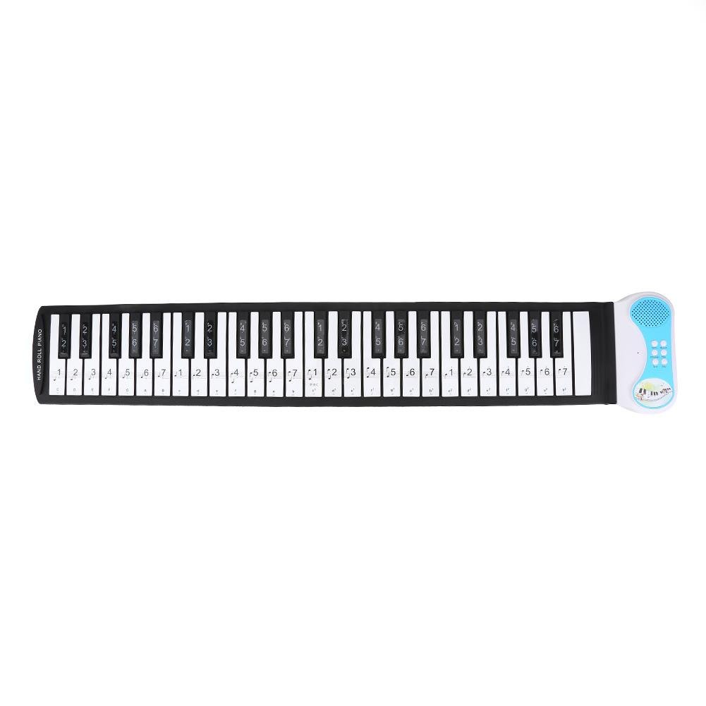 9c023906ad5 Multicolor Tbest Tbesthks8tgcpv6-01 Piano Letter Stickers Electronic  Keyboard Note White Keys Stickers Labels for Beginners ...