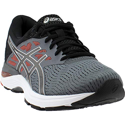 ASICS Gel-Flux 5 Shoe - Men's Running Carbon/Black/Cherry Tomato