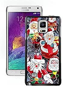 Individualization Merry Christmas Black Samsung Galaxy Note 4 Case 80