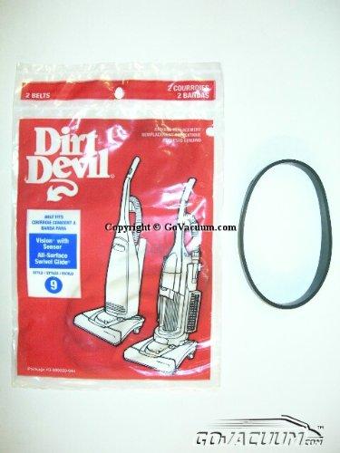 (Dirt Devil Style 9 Belt - 2 pack. Part # 3990220044 )