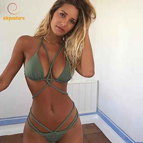 bikini Sexy Swimwear XL 171043 vestiti Up impostate Bikini Thong S Push 2018 donne bendaggio bagnantesi Bikini Biquini Beachwear brasiliano bikini ERwnBq
