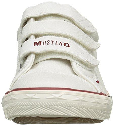 Mustang 5803408 - Zapatillas de deporte Unisex Niños Blanco - Blanc Cassé (100 Off White)