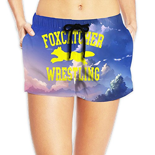 Women's Foxcather Wrestling Activewear Swim Trunks Small by YICOPC MIFUO
