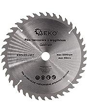 Sägeblatt für Winkelschleifer 230mm x 22,23mm mit 40 Zähnen zum sägen von OSB Sperrholz Plastik sowie Bauholz