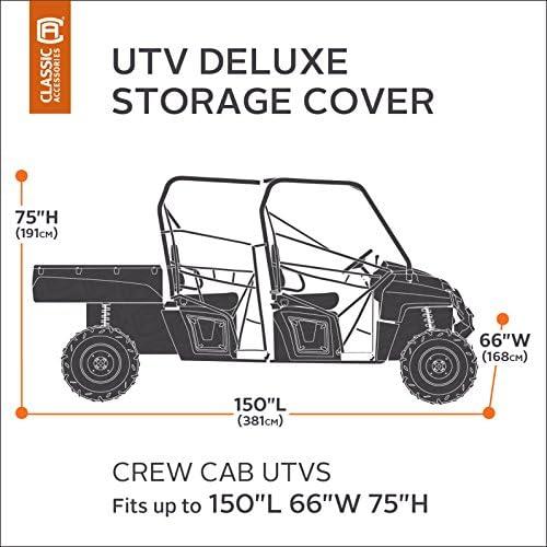 """QuadBoss Crew UTV Cover 158 1//2/""""x 62/"""" x 75 1//2/"""" 156651"""