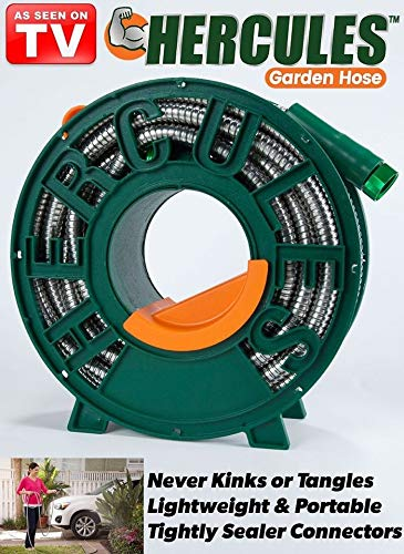 The Best Garden Hose AS SEEN ON TV heavy-duty stainless steel tangle- & Amazon.com : The Best Garden Hose AS SEEN ON TV heavy-duty stainless ...