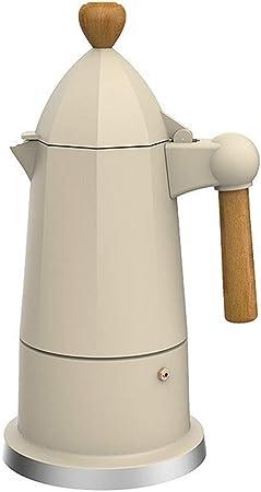 ODDINER Café Moka Pot Electrodomésticos hogar Mocha Cafetera de café Moka Fabricante de Mano de café de cafetera eléctrica eléctrica Espresso Oficina u hogar Cafetera Stovetop Cafeteras: Amazon.es: Hogar