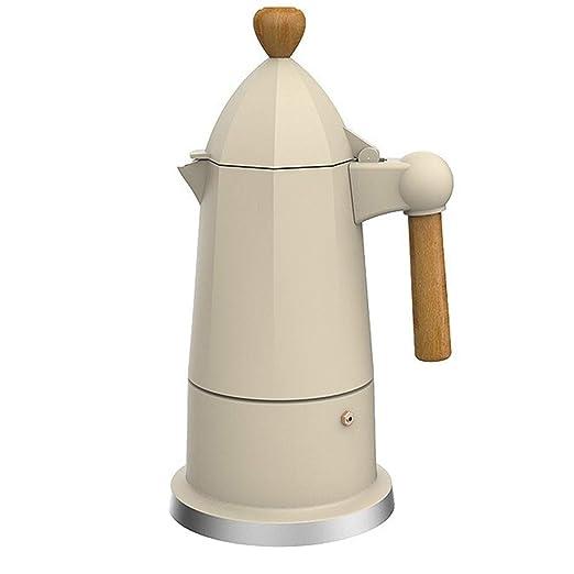 GIGIEroch Cafetera Espresso Moka Estilo Italiano Electrodomésticos ...