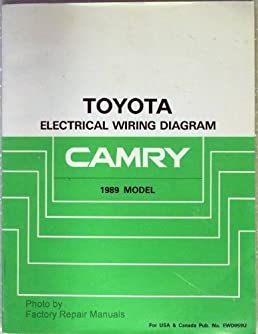 51CzMDKVRDL._SX258_BO1204203200_ 1989 toyota camry electrical wiring diagram manual (toyota toyota camry 1989 electrical wiring diagram at edmiracle.co