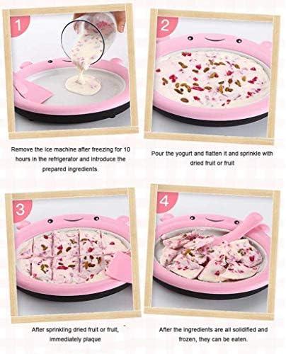 Crème glacée instantanée, machine à frire à la maison de yogourt frire la machine à glaçons