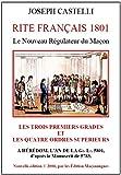 Le Nouveau Regulateur du Macon - Rite Français 1801