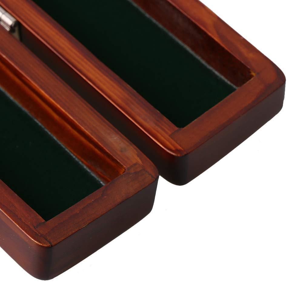 Yibuy 460/x 44/x 37/MM in legno direttore orchestra Baton caso Storage box