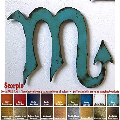 (Scorpio metal wall art home decor - Choose 11