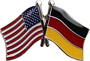 Germany - Friendship Lapel Pin