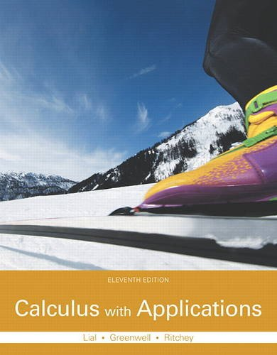 321979427 - Calculus with Applications (11th Edition)