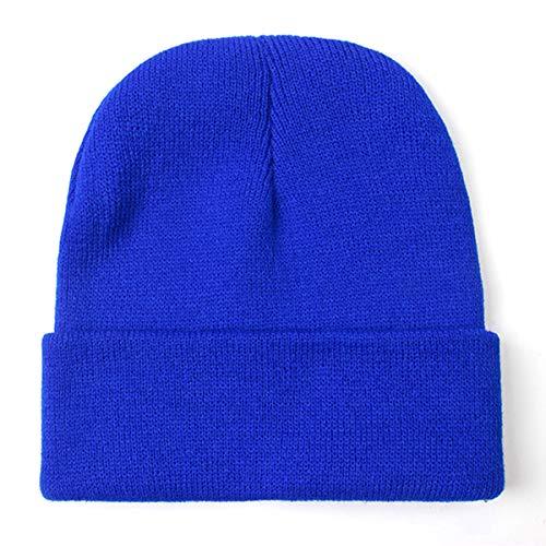 Cap Beanie Unisex Lana Warm Otoño Men de Invierno Solid 4 JFSH Women Knitted Mezclas Soft wBP5ER0q