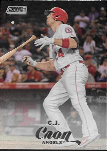 2017 Topps Stadium Club #7 C.J. Cron Los Angeles Angels Baseball Card
