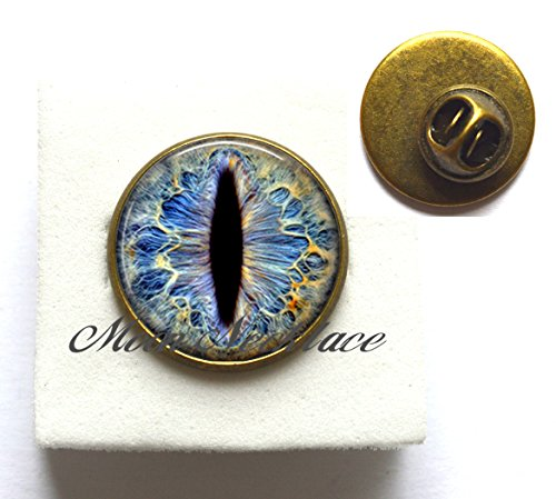 Diamond Dragon Charm (Charm Brooch,Frost Dragon Eye resin Pin, Dragon jewelry, dragon Brooch charm, Dragon geek gift dragon ,photo Jewelry-ZE046)