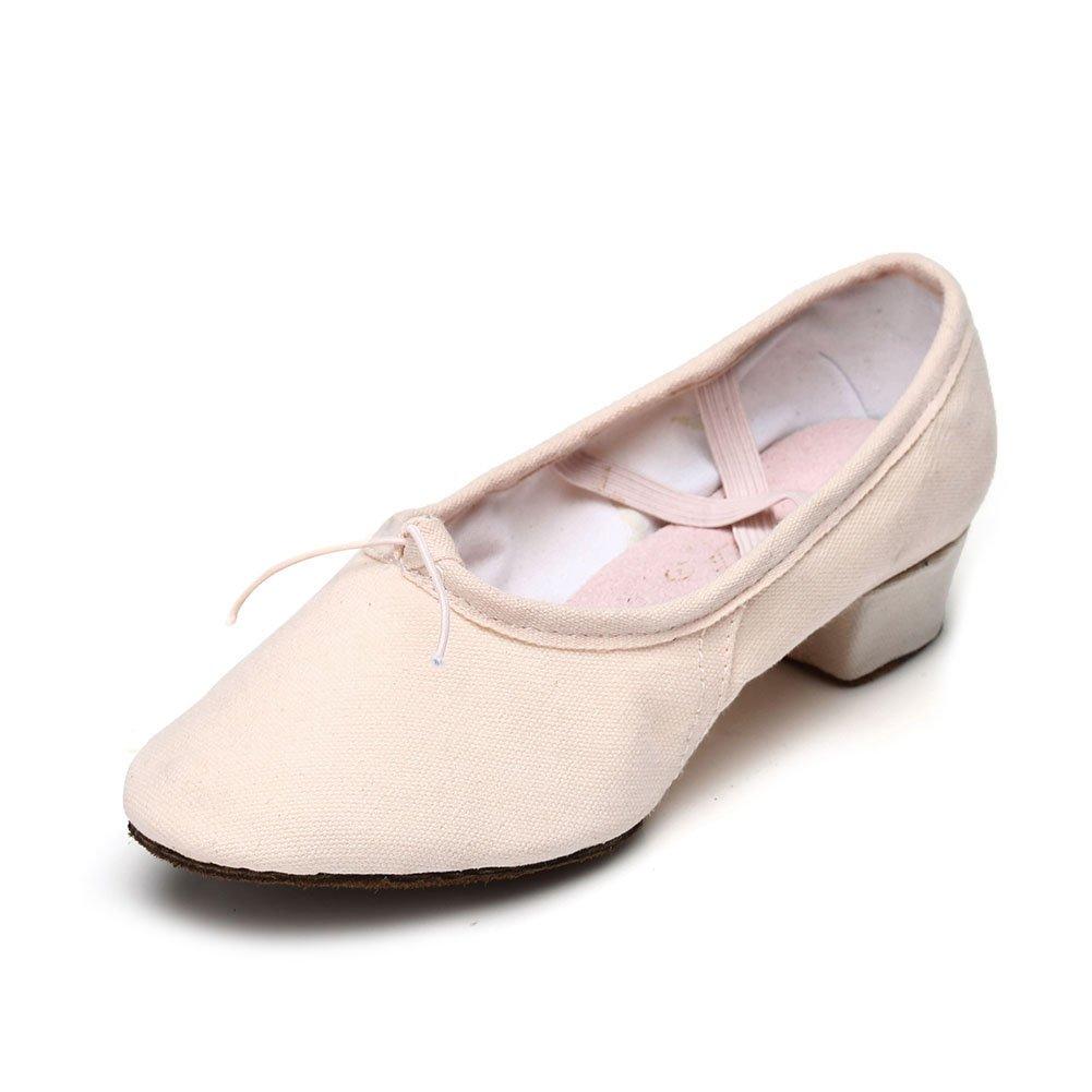 HIPPOSEUS Zapatos de La Danza de Salón de Baile/Zapatos de Baile/Zapatos Latinos de el Mujeres, Modelo ES101